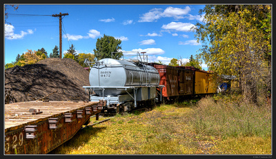 Colorado Fall Color Trip - Sep 2016 - Chama NM Train Yard 23